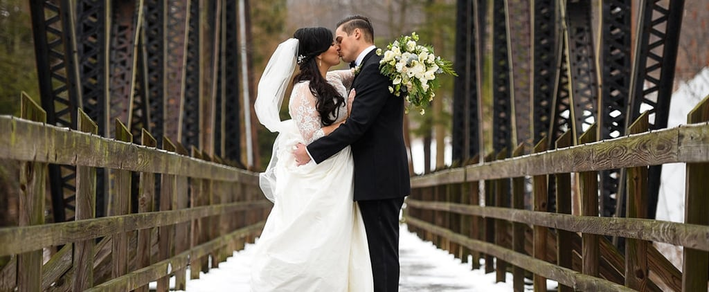 This Is What a Gatsby-Inspired Winter Wedding Looks Like