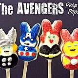 The Avengers Peep Pops