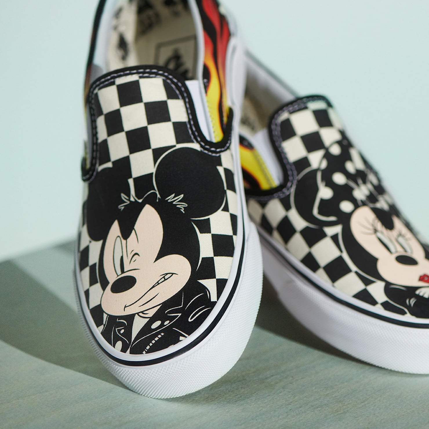 a0b52513789819 Disney Mickey Mouse Vans Sneaker Collection 2018