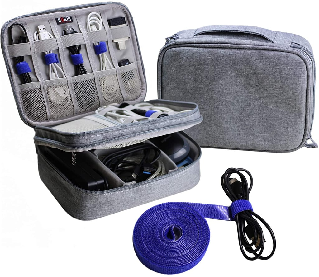 For the Traveler: Electronics Organizer Travel Cable Cord Bag