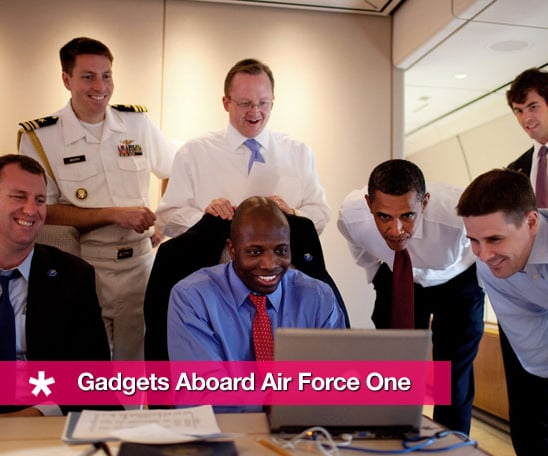 Sugar Shout Out: Gadgets Aboard Air Force One
