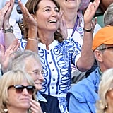 Carole Middleton at Day 9 of Wimbledon