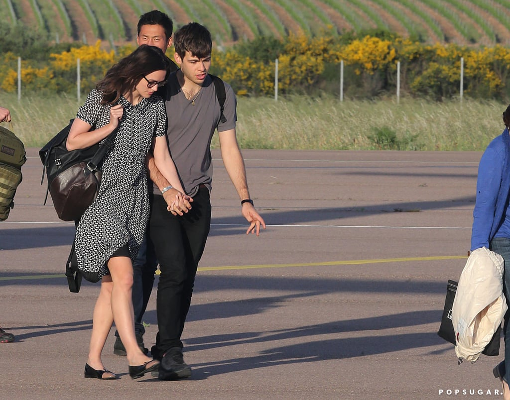 Keira Knightley and James Righton honeymooned on the island.