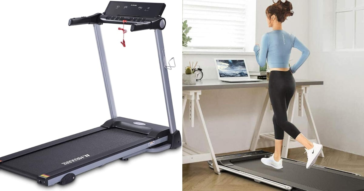 10 Affordable, Folding Treadmills That Will Take Up Minimal Space in Your Small Apartment