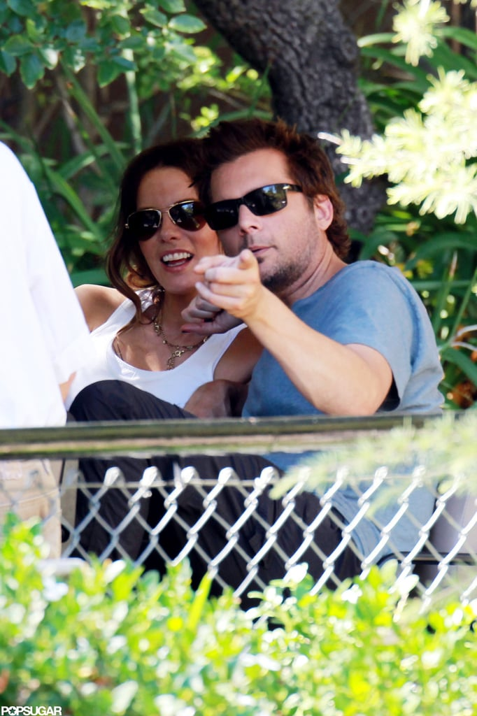 Kate Beckinsale and Len Wiseman spent her birthday together.