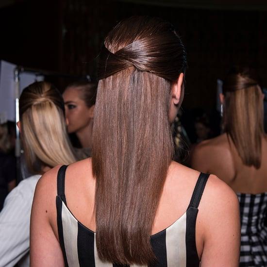 Carolina Herrera Wedding Hair Fashion Week