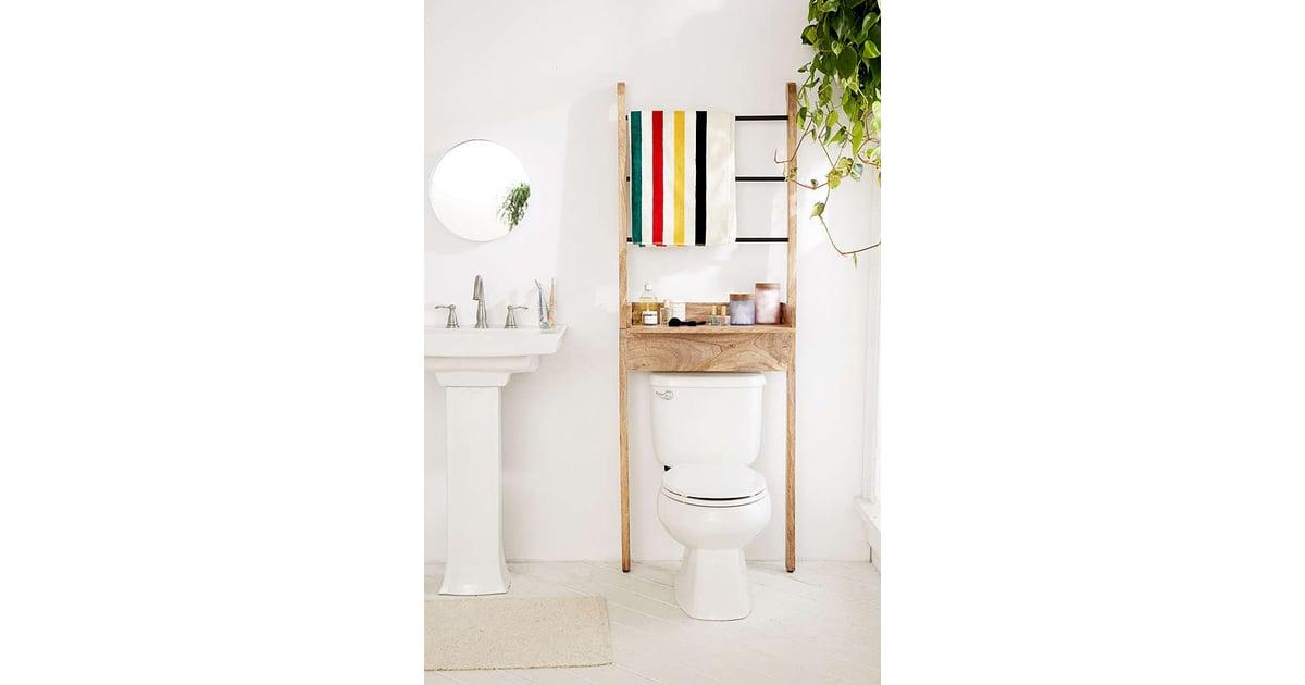 Bronte Bathroom Leaning Ladder Storage Home Storage