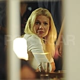 Gwyneth Paltrow filmed Thanks For Sharing in NYC.