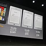 Amazon Announces New Kindles