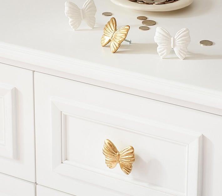Pottery Barn Kids Butterfly Knob