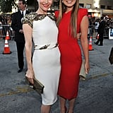 The Change-Up costars Leslie Mann and Olivia Wilde.