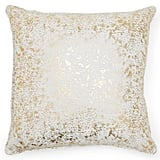 MoDRN Glam Gold Foil Decorative Throw Pillow