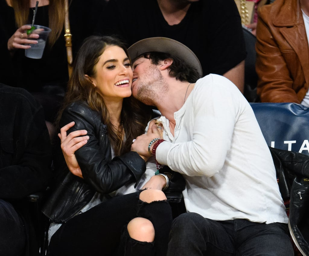 Nikki Reed and Ian Somerhalder are married! The couple surprised fans in April with their stunning Malibu nuptials less than four months after news of their engagement broke. Nikki and Ian have reportedly only been together for less than a year, but they already have plenty of sweet snaps together. It's pretty clear from their adorable outings and their sweet social posts that the couple is head over heels and they have even more to celebrate since Nikki's 27th birthday is on Sunday. Start scrolling to see their cutest moments together.