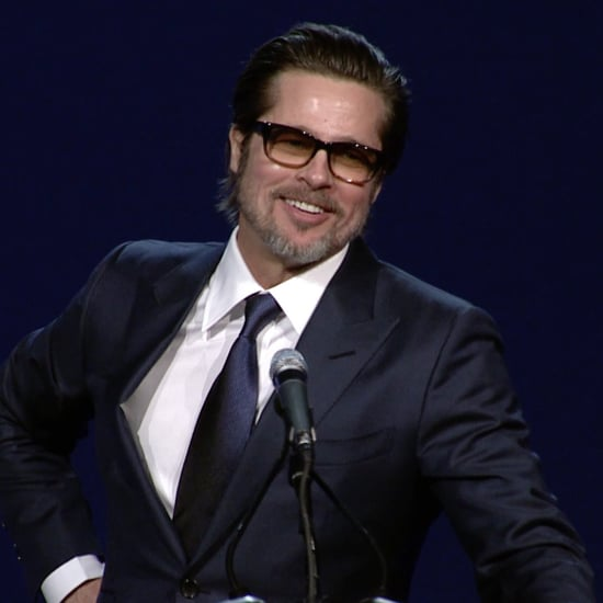 Brad Pitt's Speech at Palm Springs Film Fest 2015 | Video