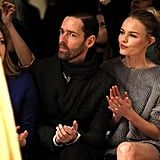 Kate and Michael Show Love Front Row at London Fashion Week