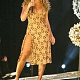Beyoncé did her thing while performing with Destiny's Child in 2002.