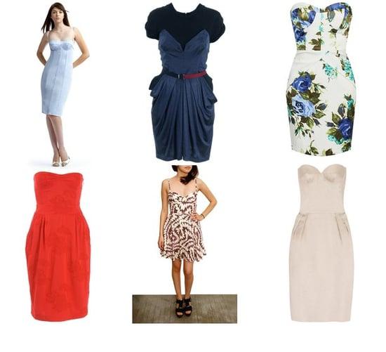 Shopping: Bustier Dresses For Summer