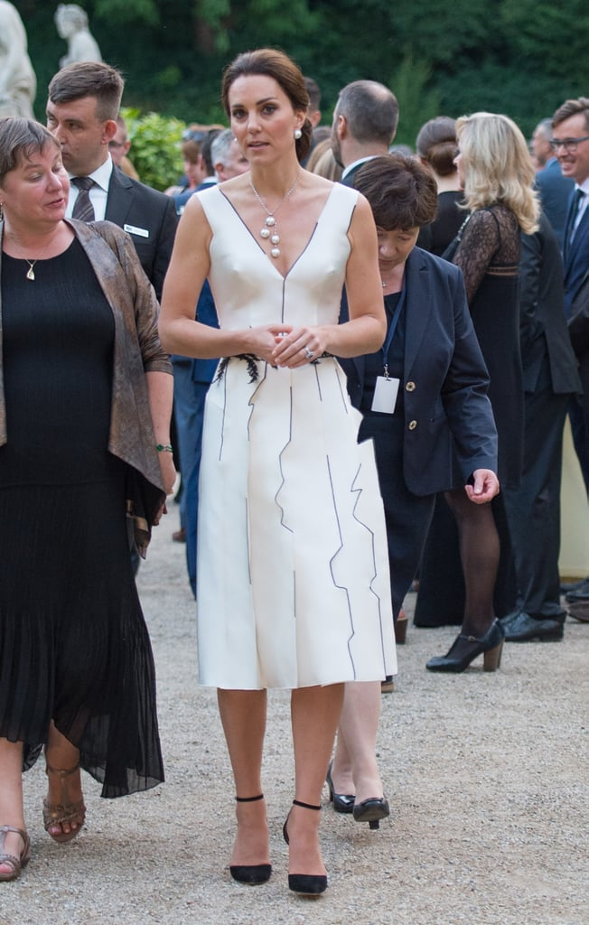 Later In The Day Kate Attended The Queens Birthday Garden Party