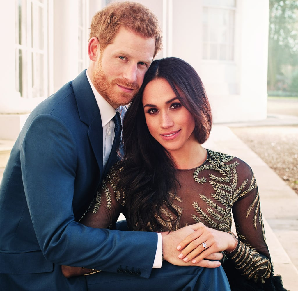 Meghan Markle Ralph and Russo Dress in Engagement Photo