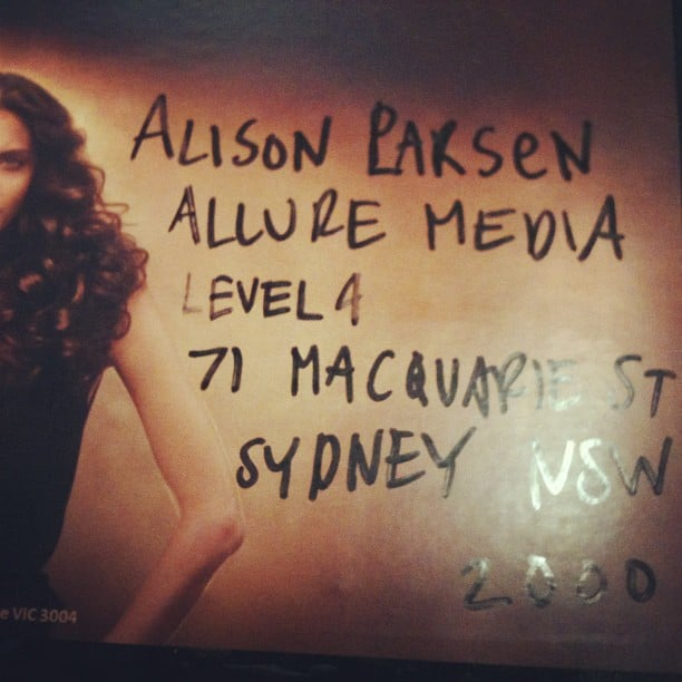 Alison Parr + Alison Larsen = Alison Parsen. We can see how confusing this must be!