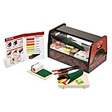 Melissa & Doug 46-Piece Roll Wrap Slice Sushi Making Play Set