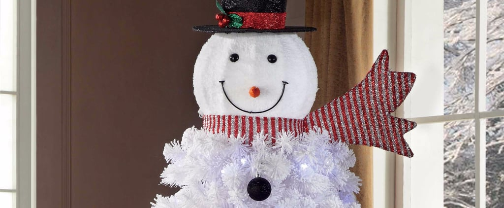 Snowman Christmas Trees Are the Jolliest Thing You'll See All Day
