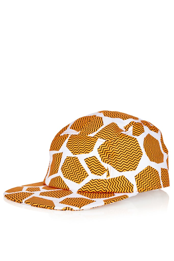 Although we absolutely love leopard, this giraffe Topshop cap ($32) is a nice change from the wildly popular print.