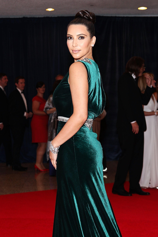 No. 8: Kim Kardashian in 2012