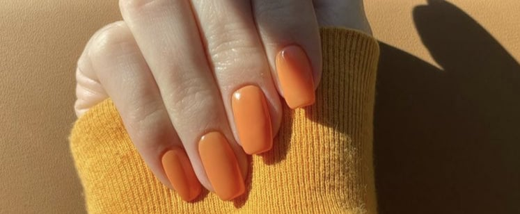 Will Orange Nail Polish Trend After Stay-at-Home Orders?