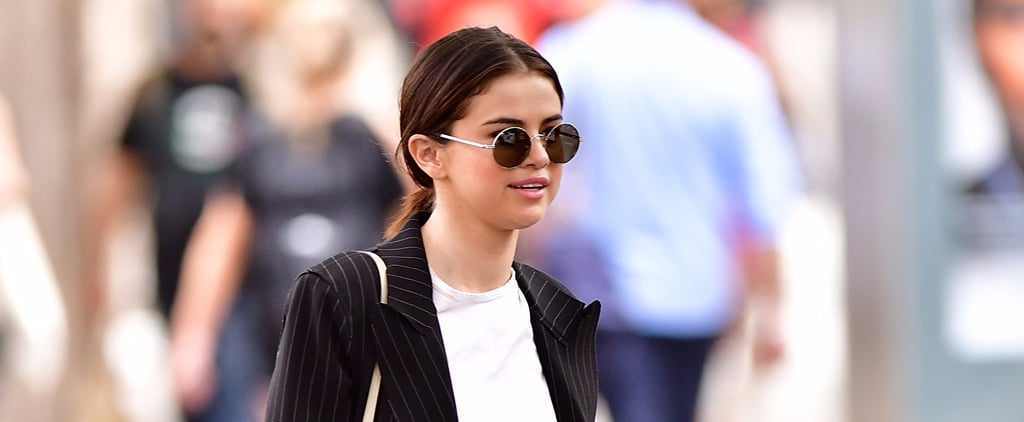 Selena Gomez's Coat Already Screamed '90s, and Then We Saw Her Chunky Loafers