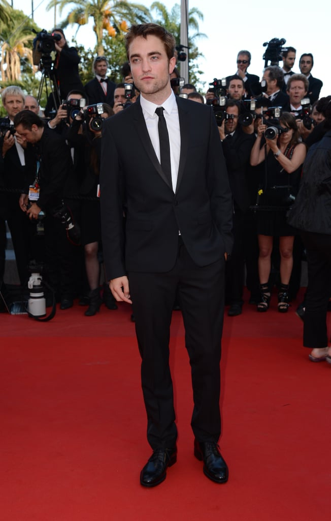 Robert Pattinson hit the red carpet of the On the Road premiere at the Cannes Film Festival.