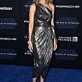 كيم ريفر في العرض الأول لفيلم Star Wars: Rise of Skywalker في لوس أنجلوس