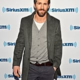 Ryan Reynolds was his usual handsome self at SiriusXM Studios on Wednesday in NYC.