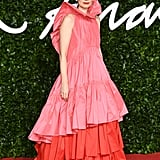 Roksanda Ilincic at the British Fashion Awards 2019