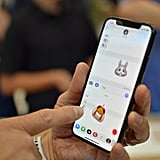 You can use Animoji in iMessage and with several different emoji.
