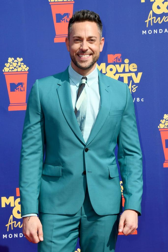 Zachary Levi at the 2019 MTV Movie and TV Awards