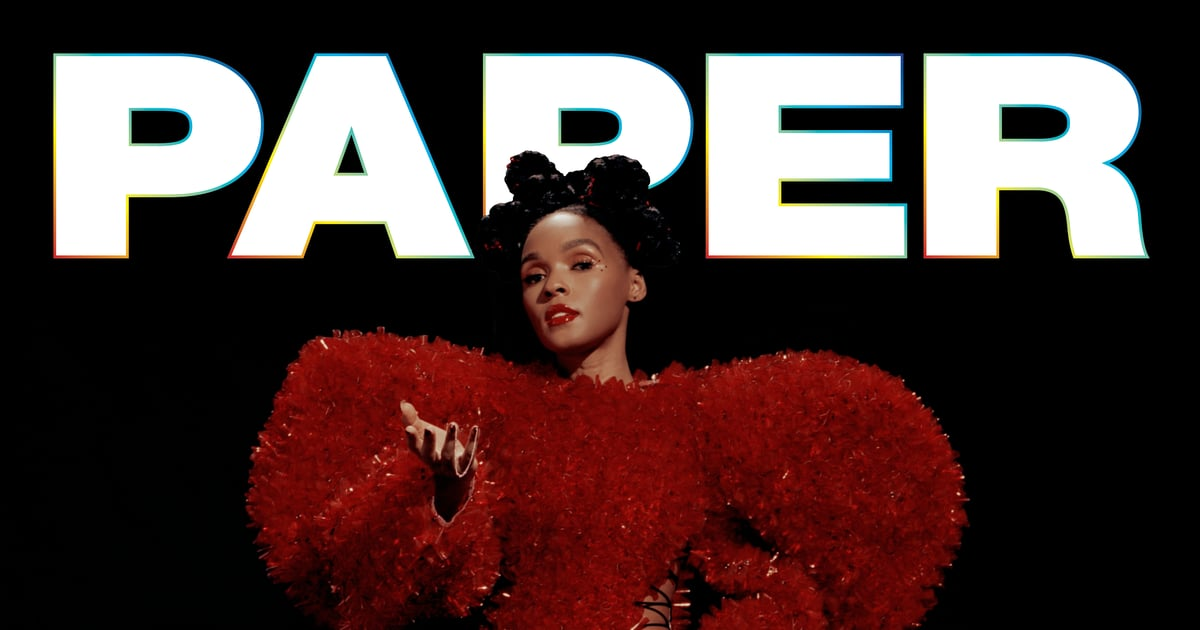 Janelle Monáe Is on the Cover of Paper Magazine With a Beauty Look That Won't Disappoint