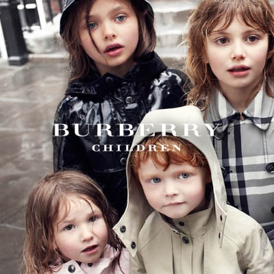 Prepared for a day of play, these fresh Autumn Winter looks show the diversity of Burberry's children's outerwear options. Featured here is a selection of solid colors, beat check, and patent leather options, allowing your child to express his or her unique choice in getting dressed!