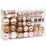 Best Choice Products Set of 72 Shatterproof Handcrafted Assorted Hanging Christmas Ornaments