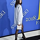 Kaia Gerber Wearing Alexander Wang at the CFDA Awards 2018