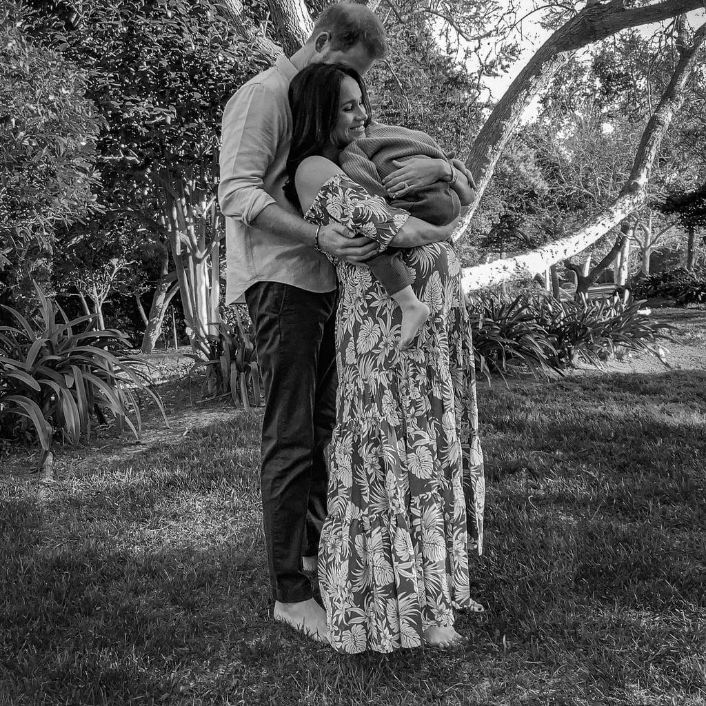 Meghan Markle's La Ligne Dress in Her Pregnancy Shoot