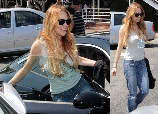 Photos of Lindsay Lohan Shopping in LA 2008-08-16 08:03:08