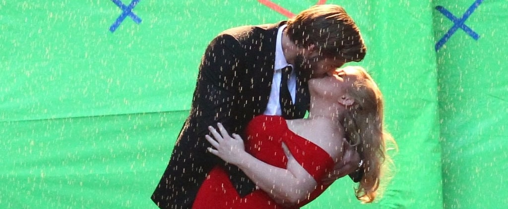 Liam Hemsworth and Rebel Wilson Have a Steamy Makeout Session in the Rain