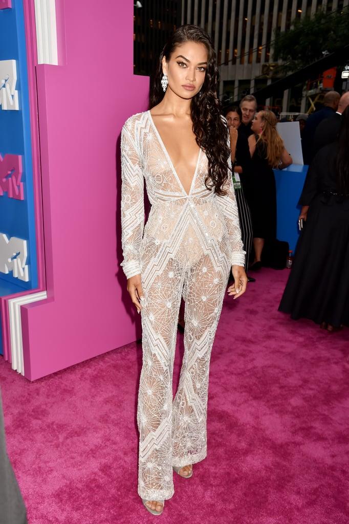 Shanina Shaik | MTV VMAs 2018 Red Carpet Dresses | POPSUGAR Fashion Photo  111