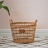Rattan Open Weave Scarlett Basket