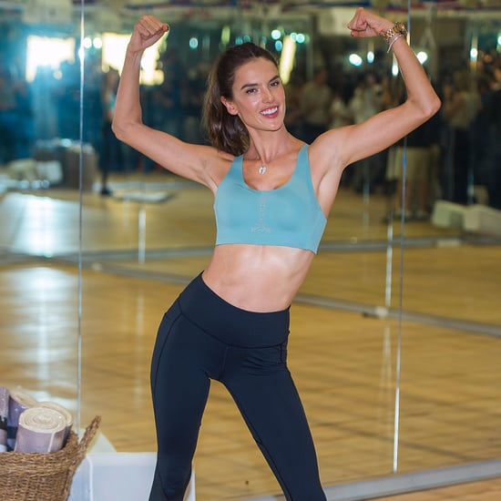 What Is Alessandra Ambrosio's Favorite Workout?