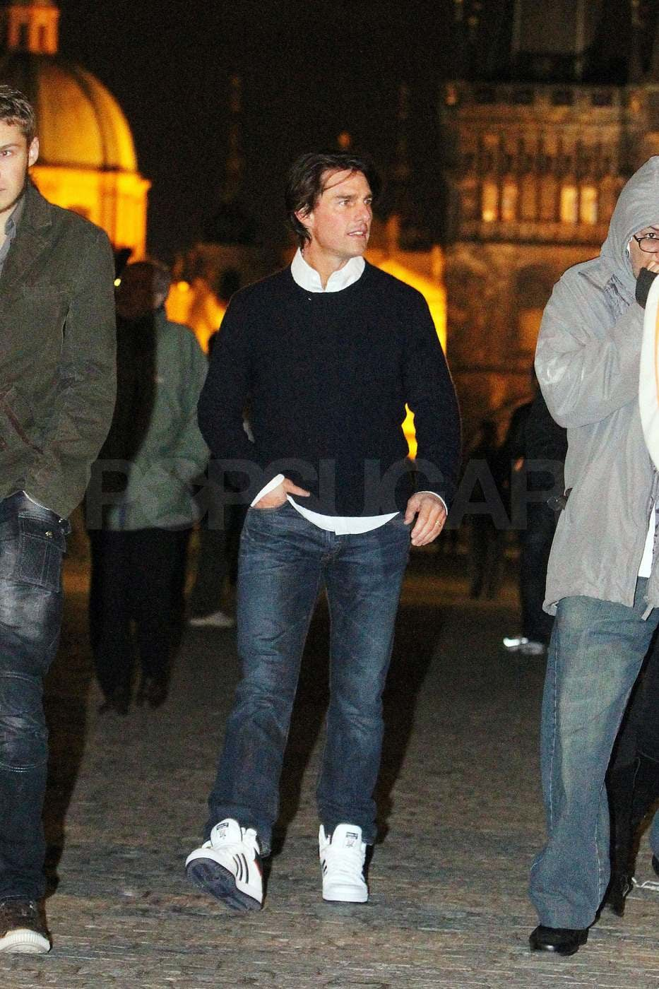 Tom Cruise Takes a Night Off and Treats Himself to a Scenic Tour