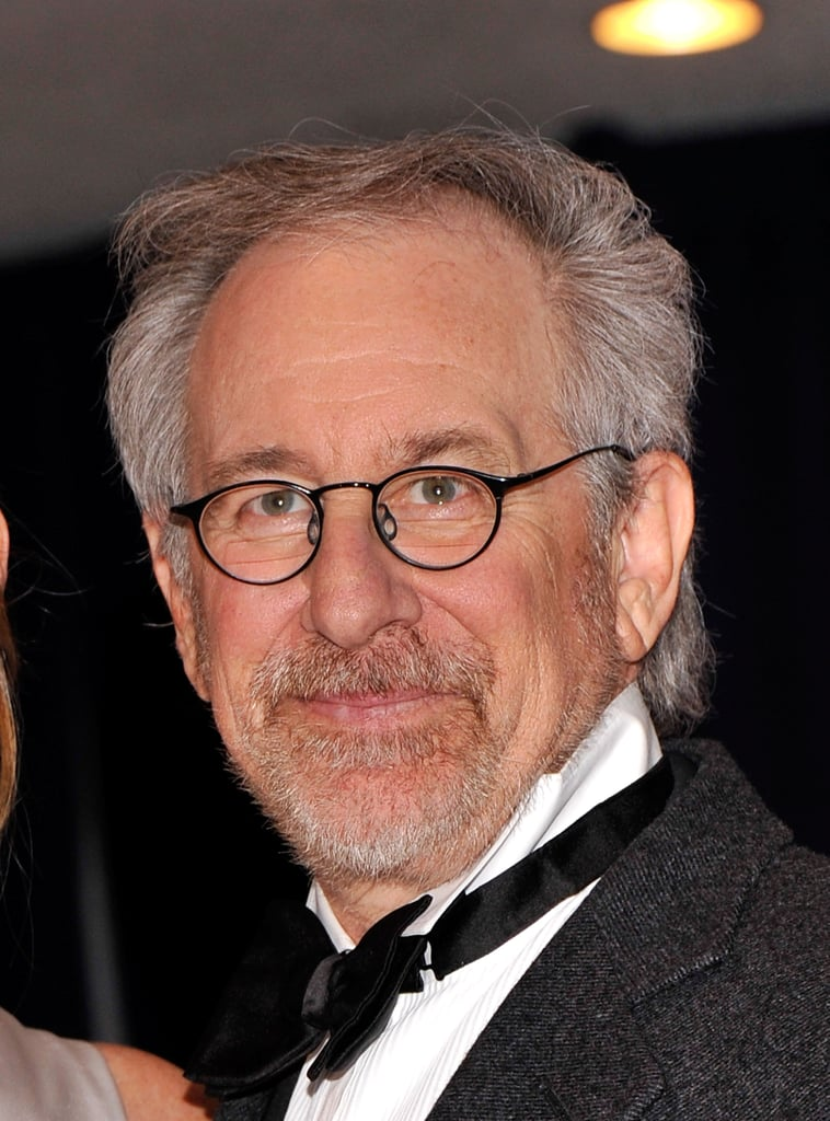 Steven Spielberg came out the White House Correspondant's Dinner.