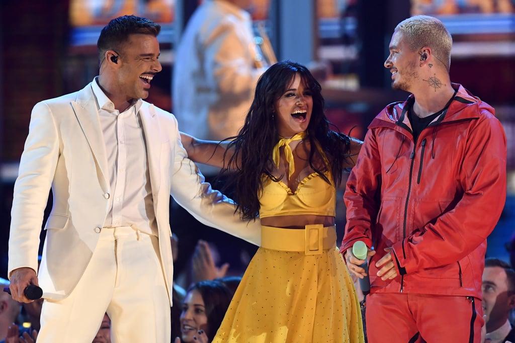 Camila Cabello With Ricky Martin and J Balvin