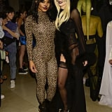 Christina Milian as a Leopard and AnnaLynne McCord